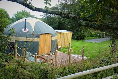 Kewni Yurt at Woonsmith Farm