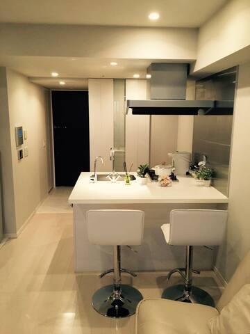 advanced ginza guest rooms银座高性价比高级公寓12楼!最高の癒される空間!