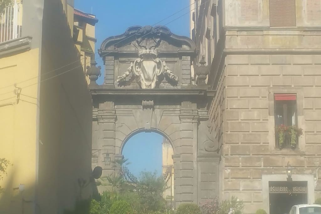 The Monumental Arch on the via Chiaia