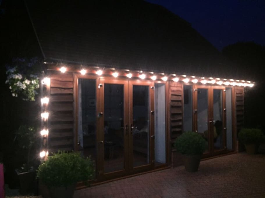 The Annexe at night