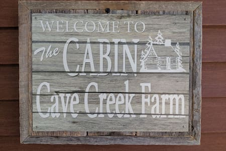 The Cabin at Cave Creek Farms