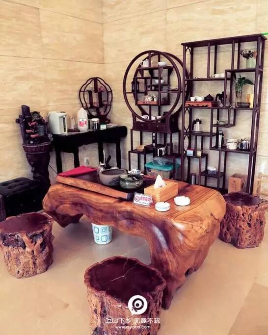 大厅 茶桌