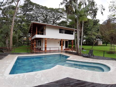 Casa de lujo en Refugio Vida Silvestre Caño Negro