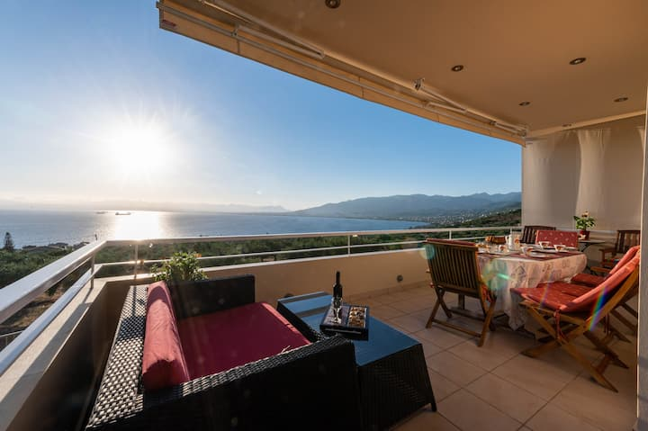 Panoramic Seaview Villa - Verga Sunset Retreat