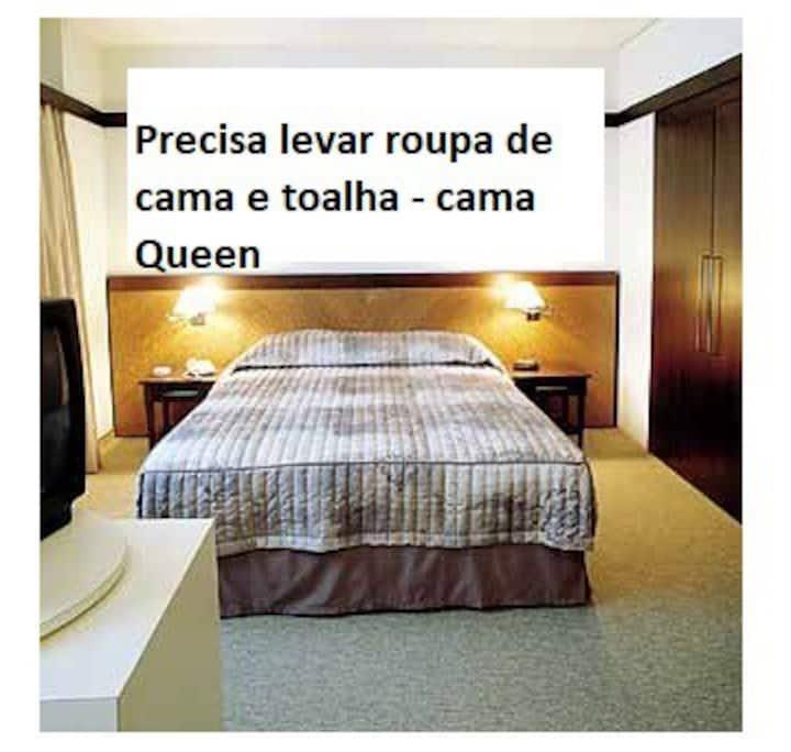 Flat Quality Suites Alphavile 49 m² completo