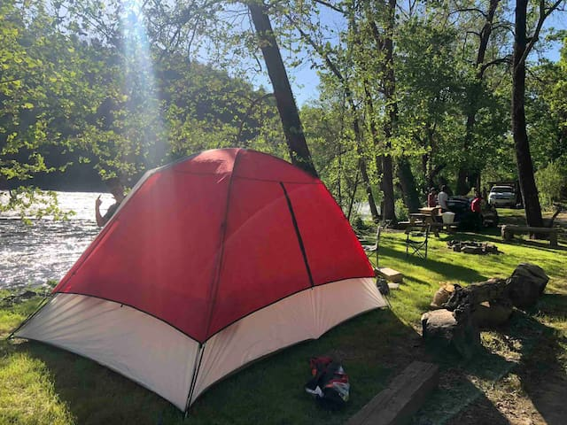 Camp Driftwood- Tent sites 7