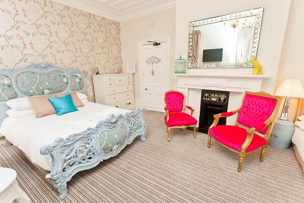 Beautiful boutique bedrooms