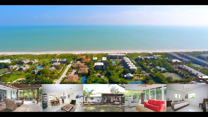 Cozy Island Home 2 min walking distance to beach! - Sanibel - House