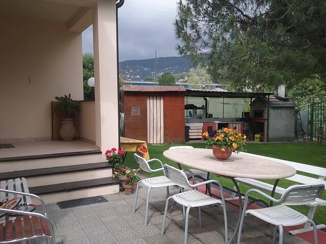 casa ideale per famiglie tra portofino e 5 terre