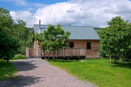 Oak Log Cabin, with hot tub - Argyll and Bute