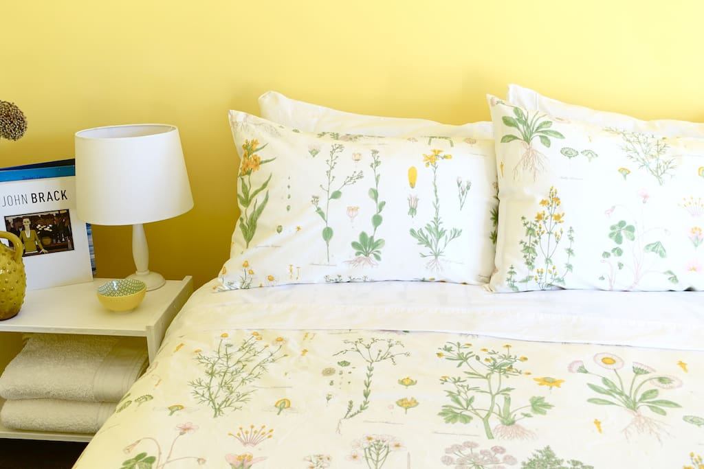 The Honey room:  spacious, comfortable and peaceful