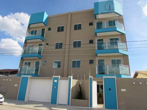 Apartamento NOVO, decorado e bem localizado 104
