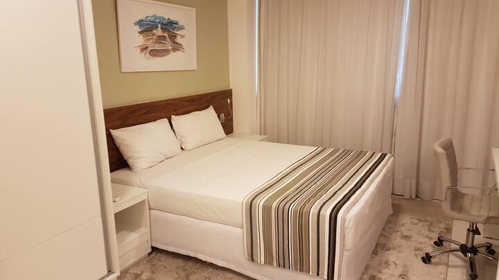 Flat incrível Setor Hoteleiro Norte - Fusion
