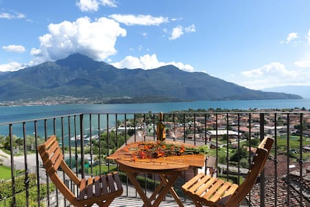 La Vedetta : wonderful view and private garden - Vercana