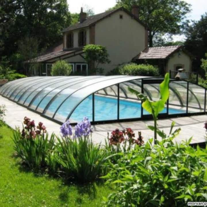 Grande maison de campagne en Bourgogne !