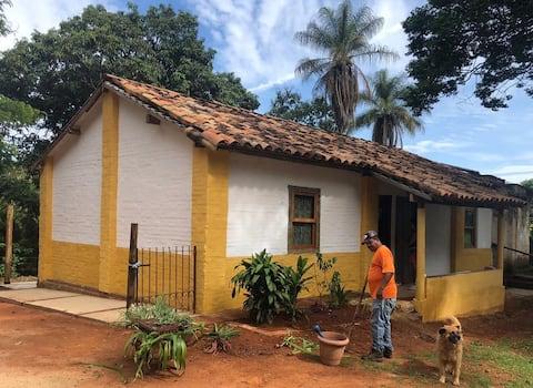 Casa 36: rural e à lenha, Faz. São José Orgânicos