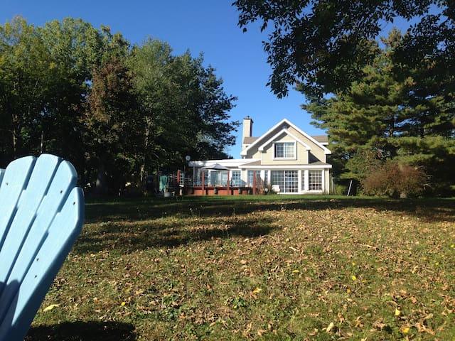 Maison du bord du lac