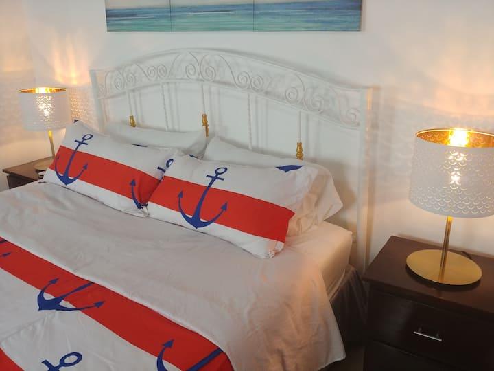 Dominican Suite 2, Increíble apto. cama king (DS2)