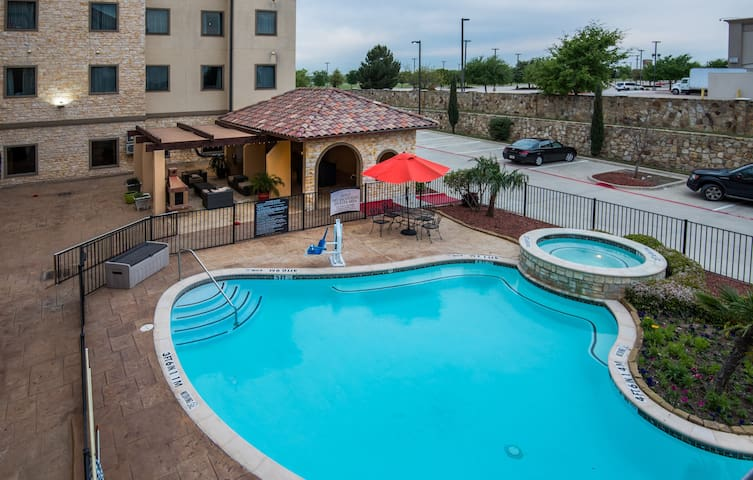 Free Breakfast + Outdoor Pool | Close to the DFW Airport!