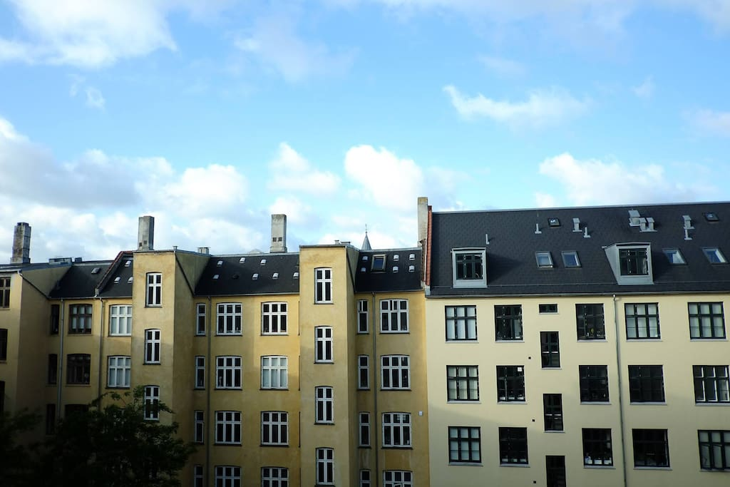 Rooftop view from the balcony