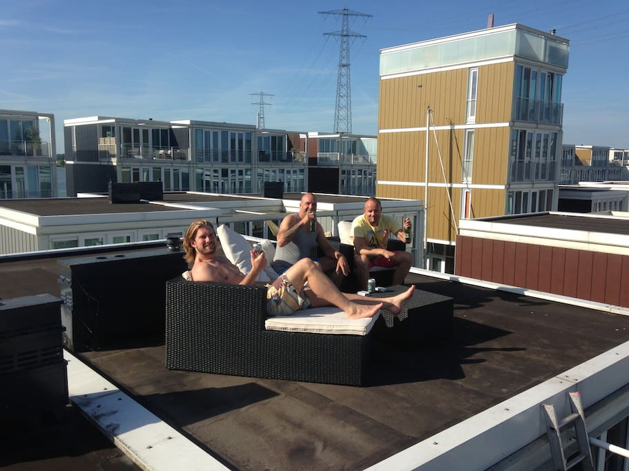 Rooftop bbq