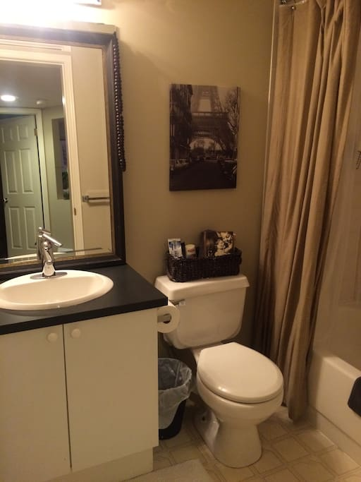 Bathroom with Shower & Tub