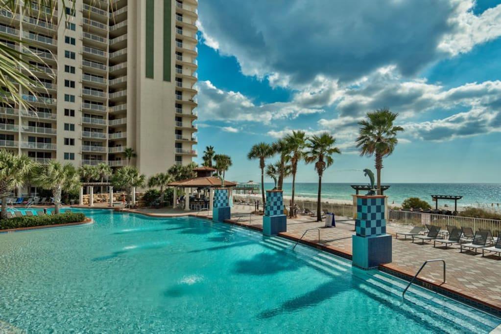 Fun In The Sun Unit 315 Shores Of Panama Condominiums For Rent In Panama City Beach Florida