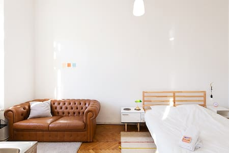 bright room in super nice area - 维也纳 - 公寓