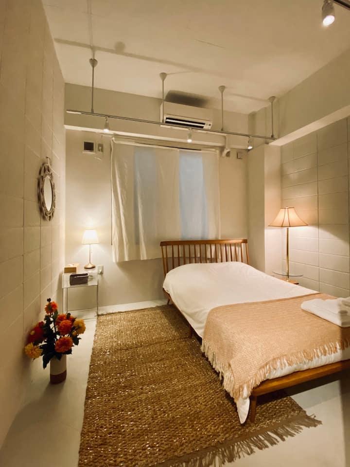 [SHIMASHO-NE]LESTEL NAHA 那覇市国際通りのオシャレなホテル個室