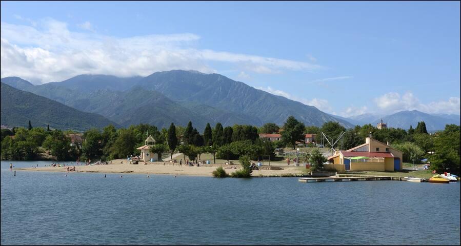 Studio proche du lac et de la montagne - Vinça