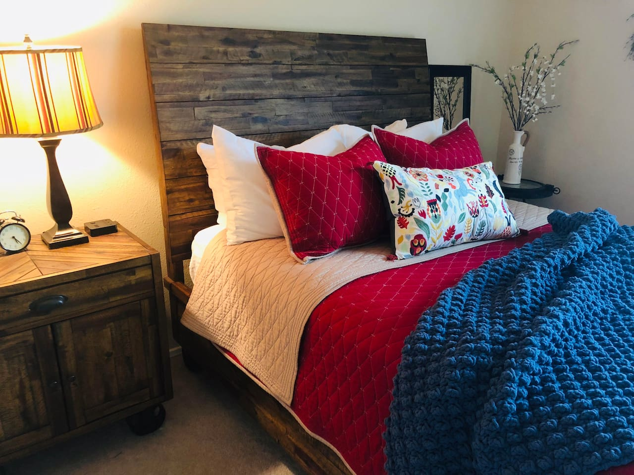 You'll love this comfy bed!