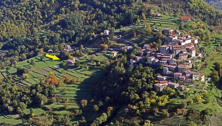 Charming villa, where Tuscany meets the sky!