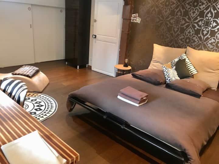 Chambres de luxe en hyper-centre de Nancy