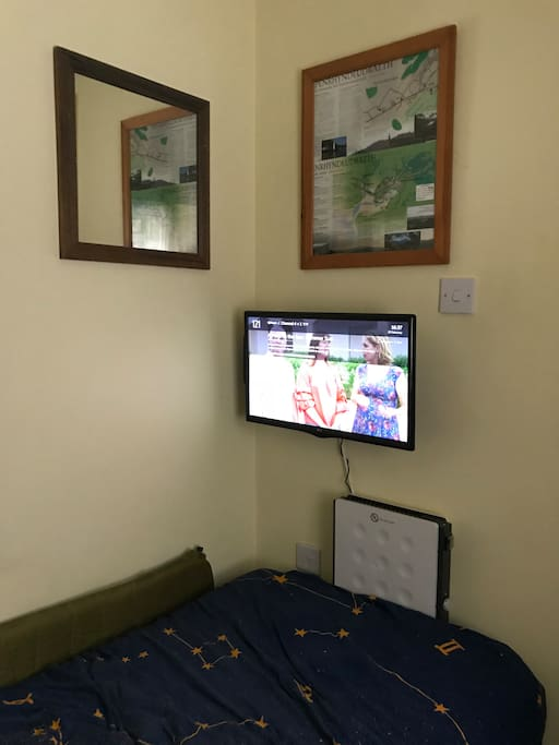 TV (and WiFi) available in room