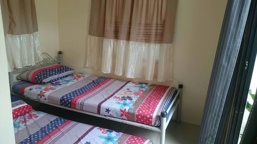 PRIVATE BEDROOM IN VILLA 2PAX