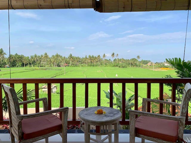 """75% OFF"" 2 BR Heavenly View Villa, Ubud"