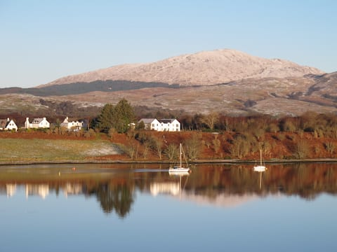 House with stunning Views over Loch Etive