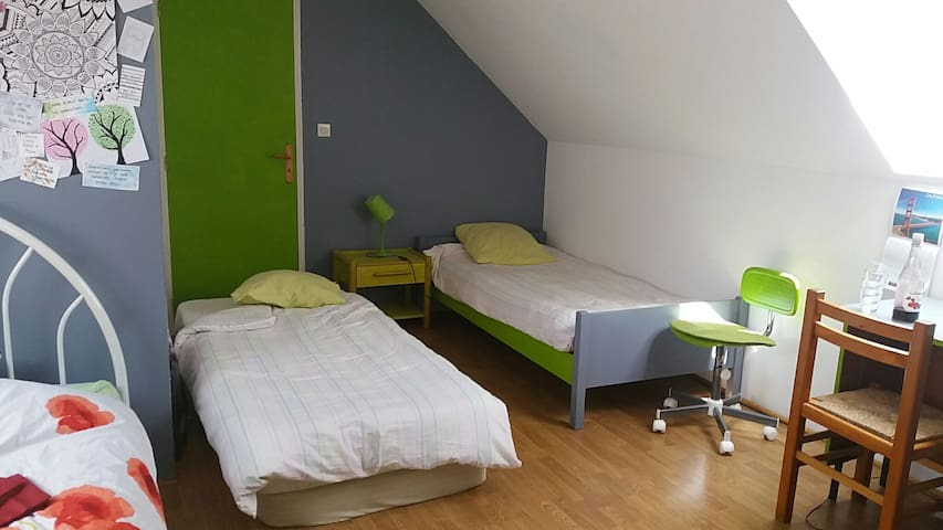 bedroom for english or german tourist