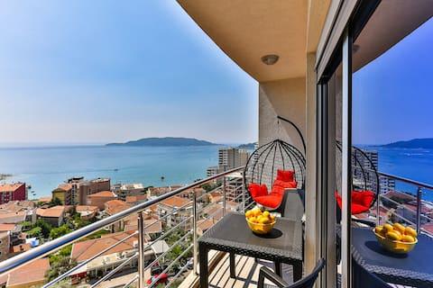 Новая и роскошная квартира! Вид на море из каждого номера