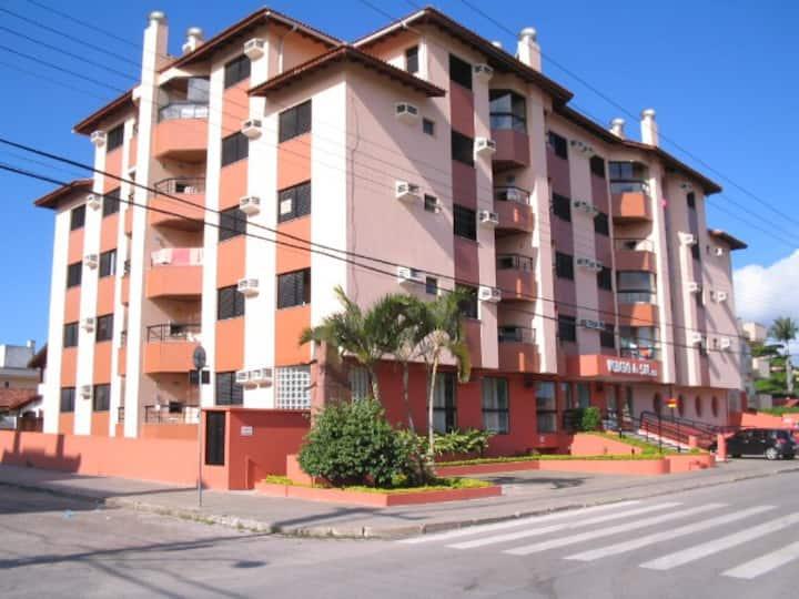 Apartamento na quadra do mar de Canasvieiras