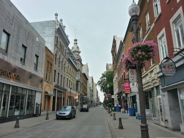 Le Studio - Private LOFT/STUDIO - Old city - Ville de Québec - Lejlighed