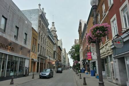 Le Studio - Private LOFT/STUDIO - Old city - Ville de Québec - Квартира