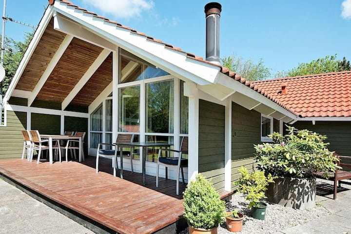Spacious Holiday Home in Oksbol with Terrace