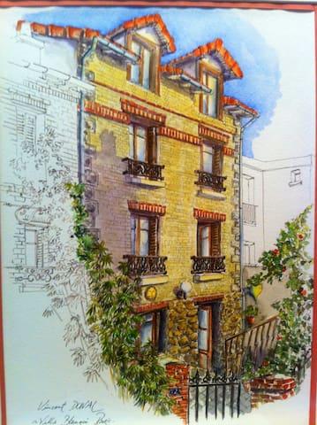 Chambre1 dans maison de charmeParis - Paris - House