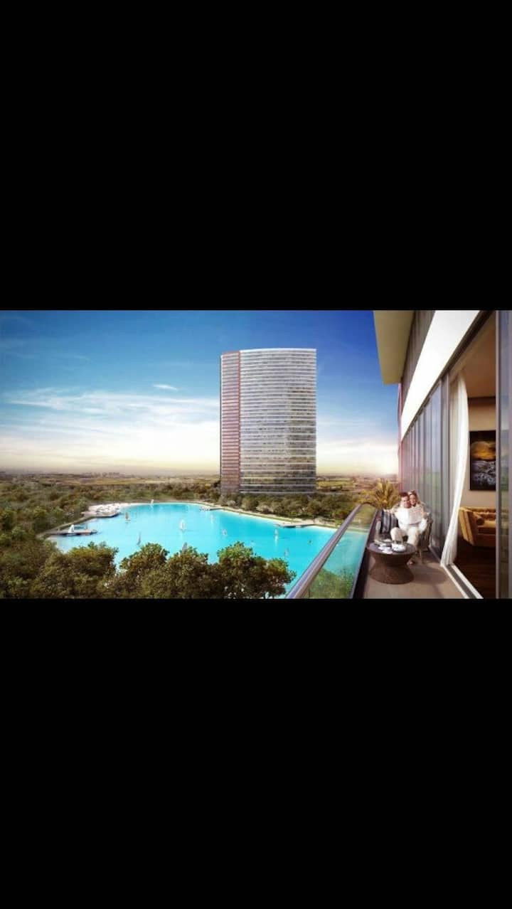 """Lux New Residence """"Lake View with Balcony"""""""