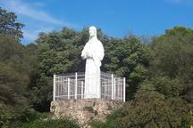 Monumento a Cristo en Rio Ceballos