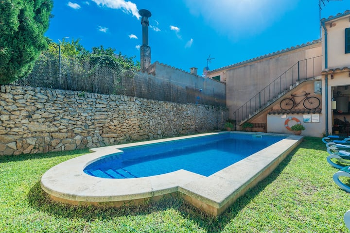 CAN BAGOT - Villa with private pool in Llubí. Free WiFi