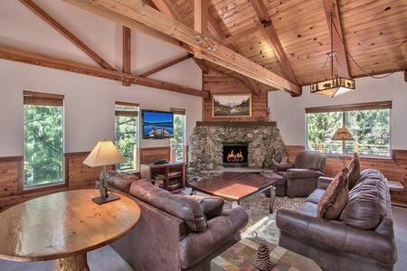 Lake Tahoe house with hot tub - Ház