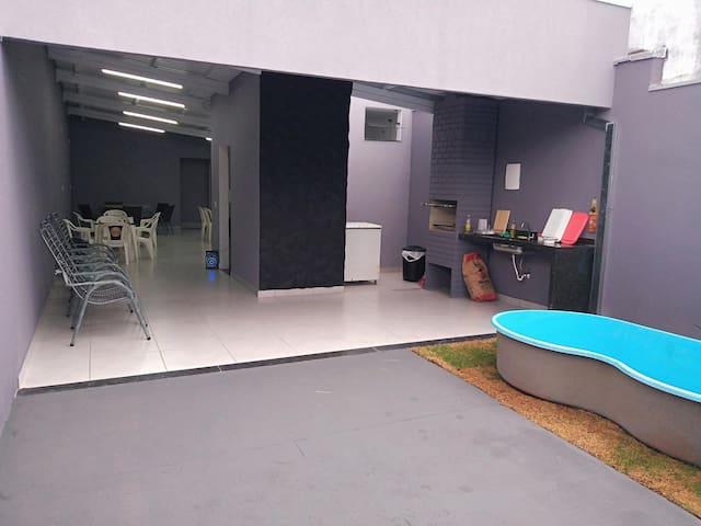 Espaço - salão para festas
