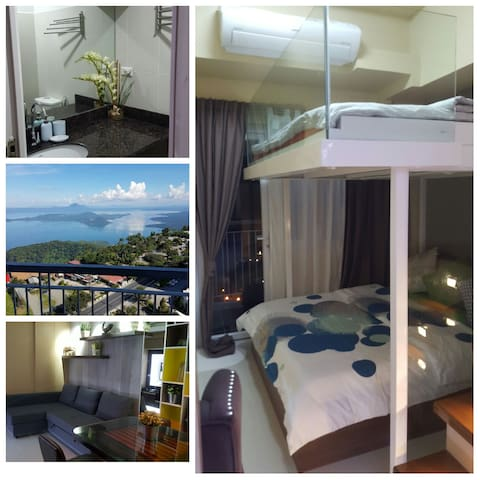 1BR Lake View@WIND RES. TAGAYTAY - Tagaytay - Apartment